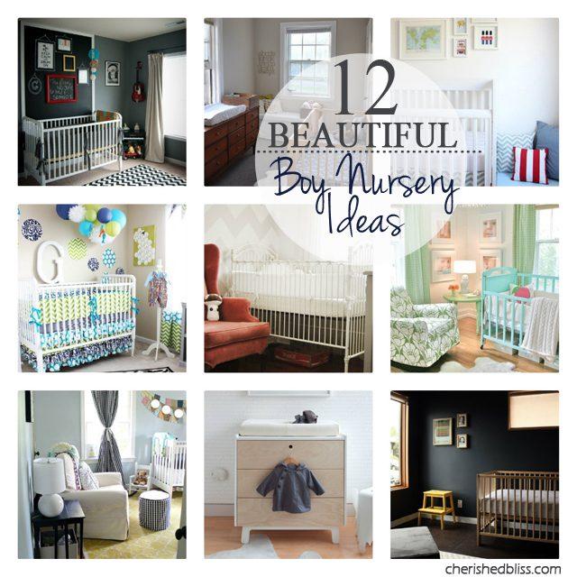 12 Beautiful Boy Nursery Ideas Cherished Bliss