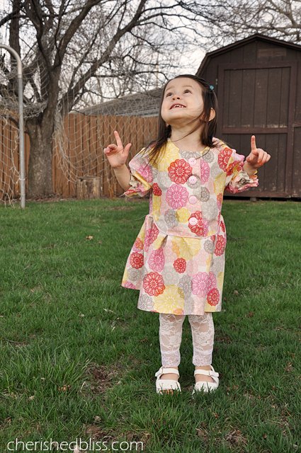 Zig Zag Dress {a pattern by @seekatesew1} via cherishedbliss.com