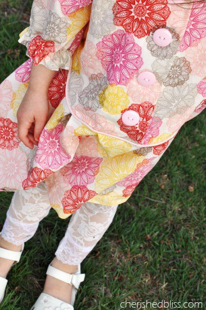 Zig Zag Dress {a pattern by @seekatesew1} via cherishedbliss.com