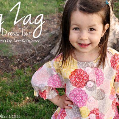 Zig Zag Dress Pattern Tour