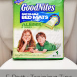 Top 5 Potty Training Tips & GoodNites Bed Mats