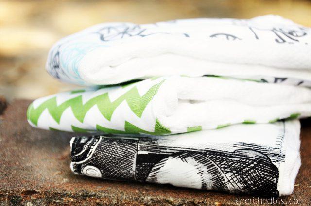 DIY Burp Cloth Tutorial for a vintage travel themed nursery via cherishedbliss.com