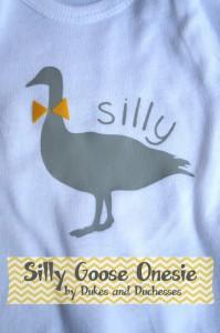 silly goose onesie