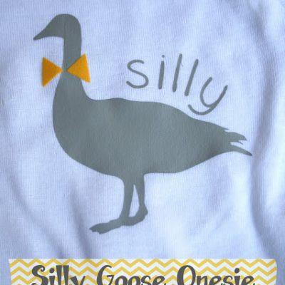 Silly Goose Onesie Tutorial