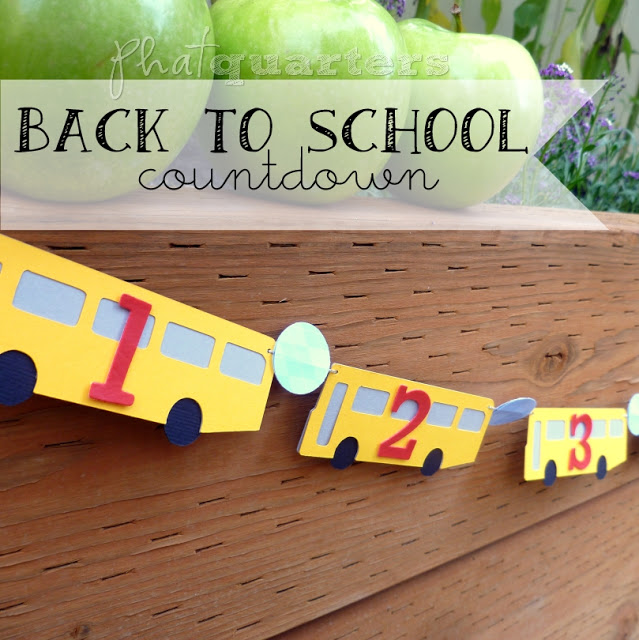 Back to School countdown (pin image)