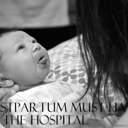 5 Postpartum Must-Haves for the Hospital #ad #‎DulcoEasePink‬
