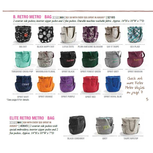 a thirty one giveaway retro metro bag review cherished