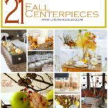 21 Fall Centerpiece Ideas