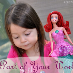 The Little Mermaid Singing Doll Play Time! #shop #DisneyPrincessPlay #cbias