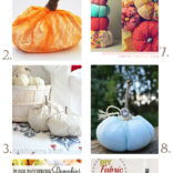 10 Fabric Pumpkin Tutorials