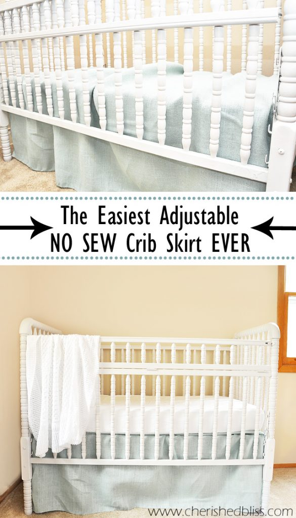 crib blog tutorial diy skirt skirts