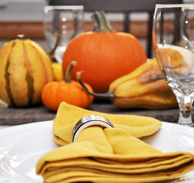 A Fall inspired tablescape with delicious Easy Fish Tacos #SauteExpress #shop #cbias