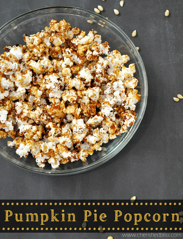 Pumpkie Pie Popcorn Recipe