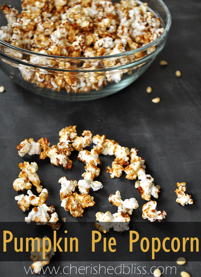 Pumpkie Pie Popcorn