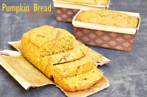 The Best ever Pumpkin Bread Recipe!