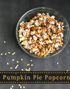 Pumpkin Pie Popcorn Tutorial