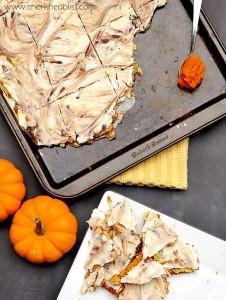 Pumpkin Pie Toffee
