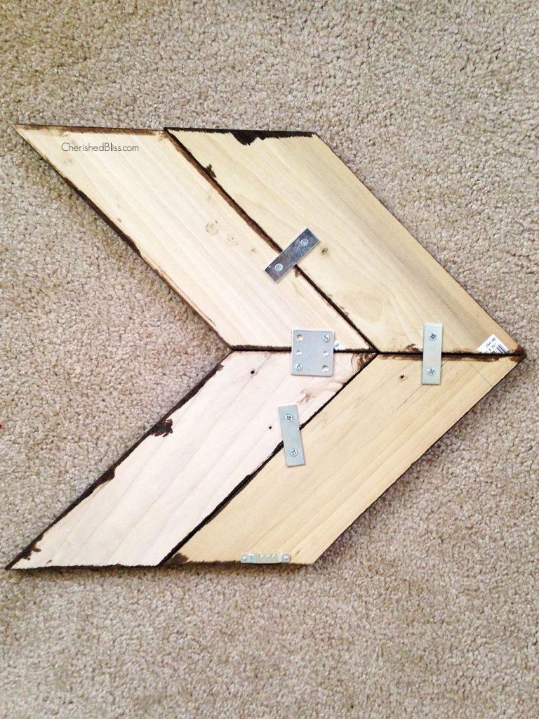 backofarrows & DIY Wooden Arrow Tutorial - Cherished Bliss