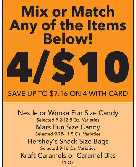 Last Minute Halloween Treat Bags with #MyPicknSave #shop #cbias