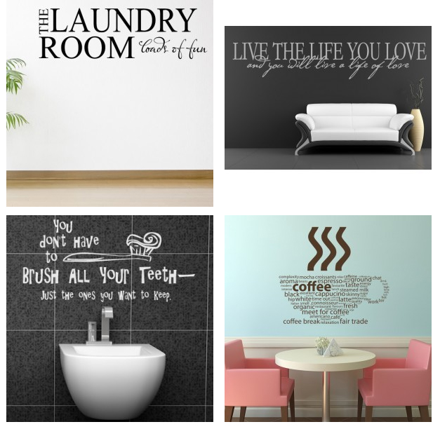 Icon Wall Stickers on cherishedbliss.com #giveaway #ad