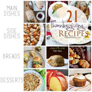 21 Thanksgiving Recipe Ideas