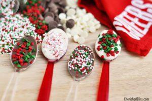 Decorate Chocolate Spoons