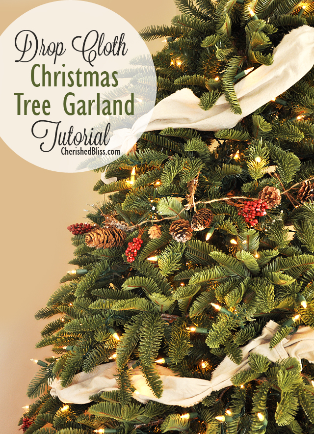 Image gallery tree garland How to hang garland on a christmas tree