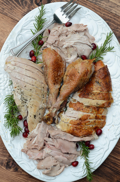 Herb Roasted Turkey From Valerie's Kitchen