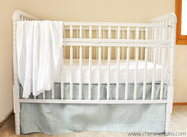 tips on how to paint a crib cherished bliss. Black Bedroom Furniture Sets. Home Design Ideas
