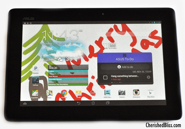 Get Organized with the Asus ME302c Android Tablet featuring an Intel Processor #IntelTablets #shop #cbias