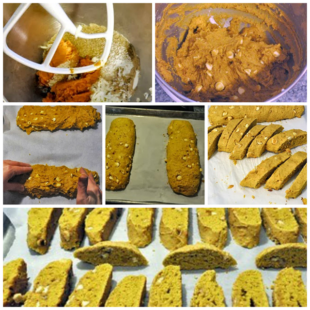 Pumpkin and White Chocolate Biscotti Recipe