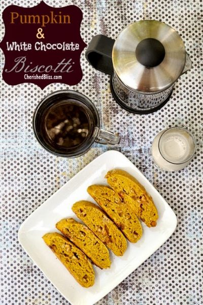 Pumpkin and White Chocolate Biscotti Recipe