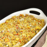 Chicken and Cornbread Dressing recipe. A must have for this Thanksgiving