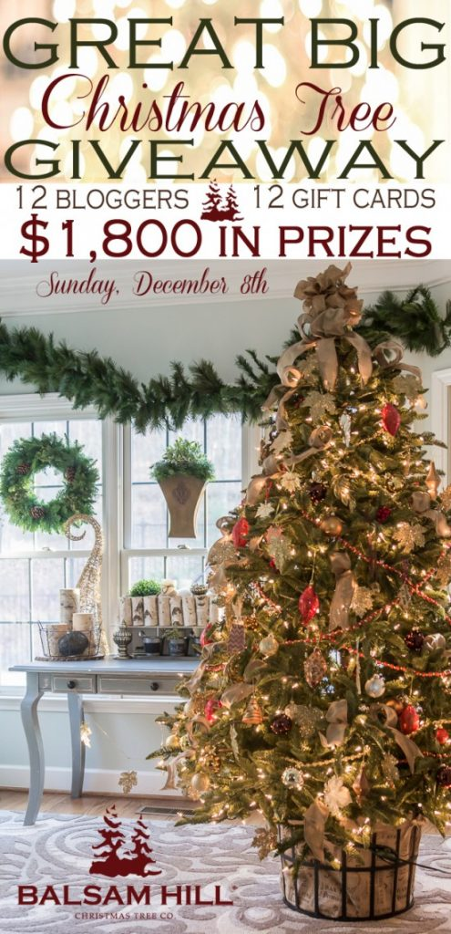 Balsam Hill Giveaway - 12 prizes 12 winners