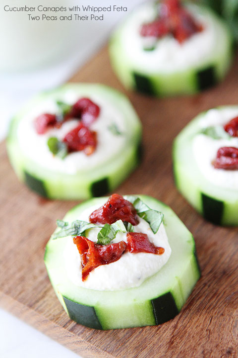 Cucumber-Canapes-with-Whipped-Feta-Sun-Dried-Tomatoes-and-Basil-7