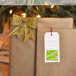 Quick and Easy Gift Tags