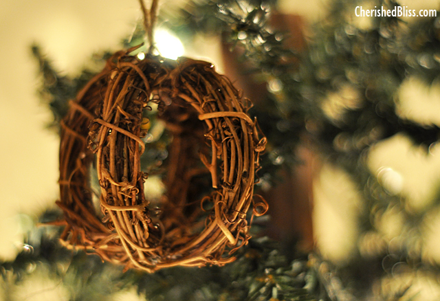 Rattan Sphere Ornament