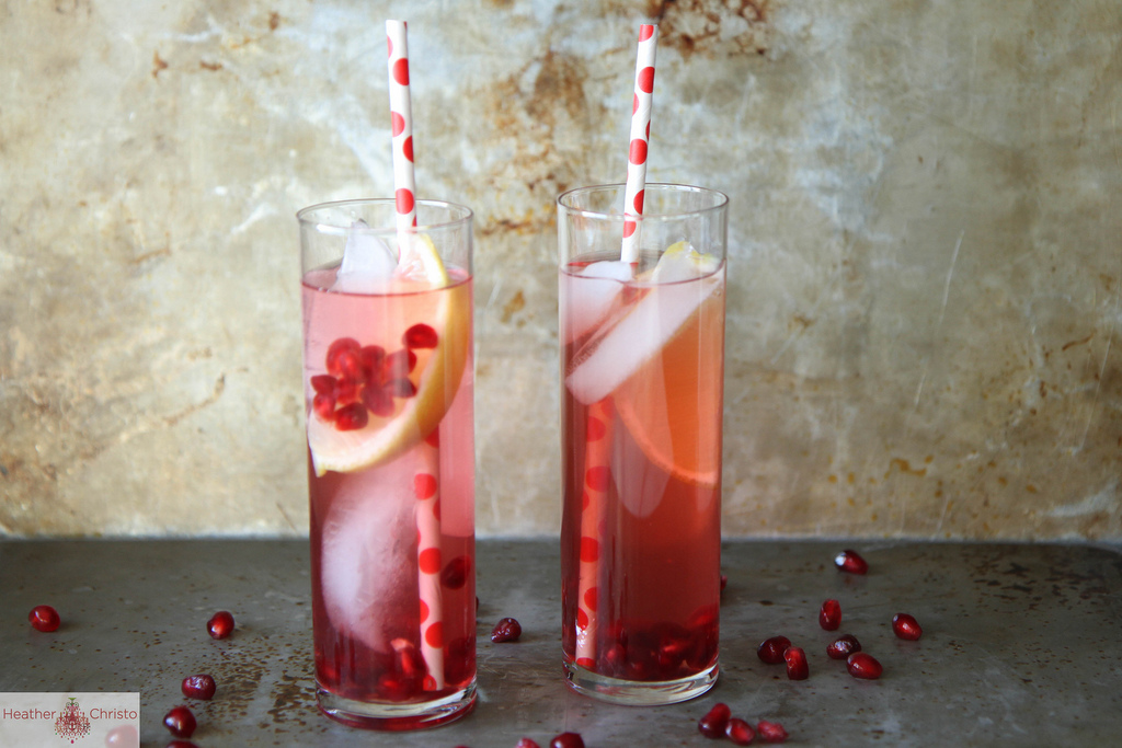 pomegranate-lemonade-punch