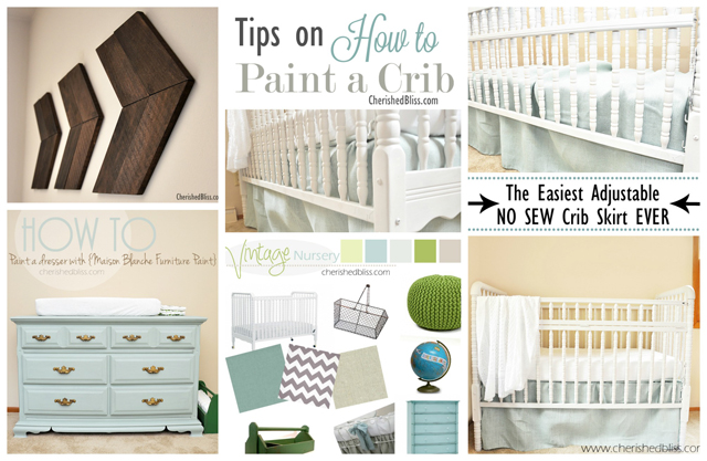 Vintage Travel Themed Nursery Projects