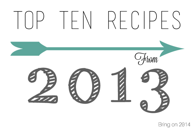 top 2013 recipes