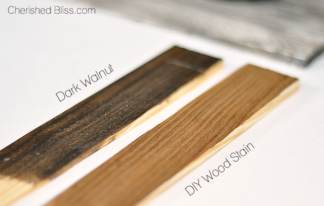 Diy Wood Stain Using Household Products Cherished Bliss
