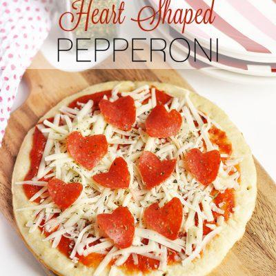 How to Make a Heart Shaped Pepperoni