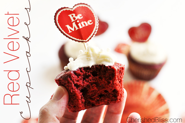 Enjoy these delicious Red Velvet Cupcakes! They will leave your taste buds singing!