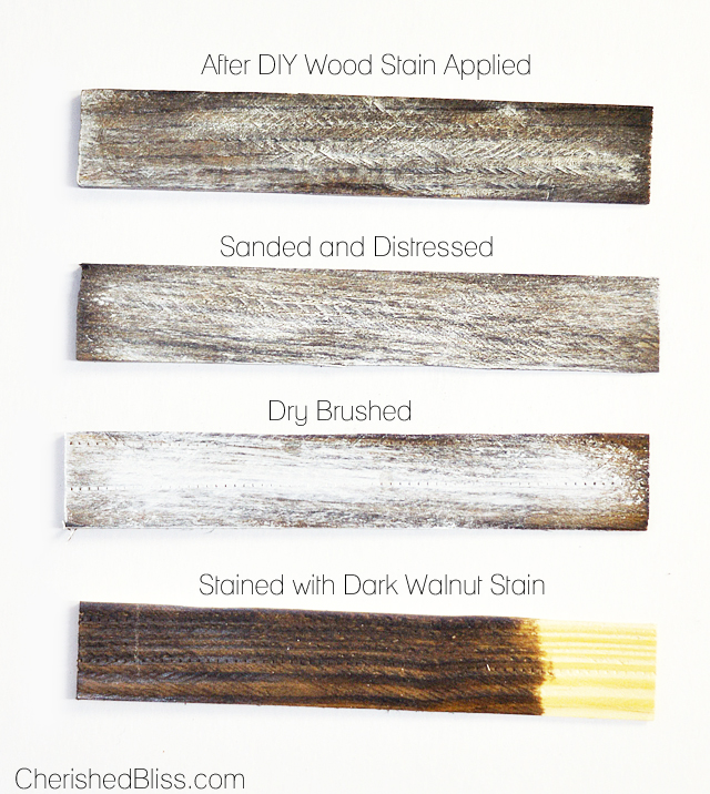 How To Weather Wood Cherished Bliss, How To Distress Stained Furniture