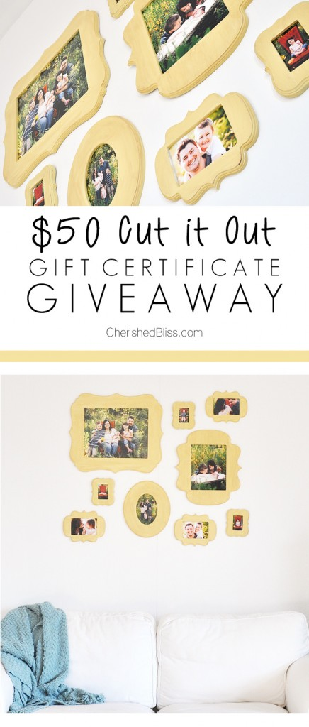 Cut It Out Giveaway