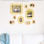 DIY Gallery Wall w/ Cut it Out Frames