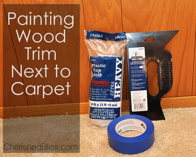 How to Paint Wood Trim: With these tips, you can paint that ugly wood trim white with NO SANDING!