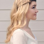 This tutorial shows you how to get the perfect soft waves, and demonstrates how to twist your bangs back in an unique and innovative way for this spring.
