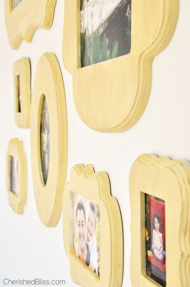 Yellow Picture Frames