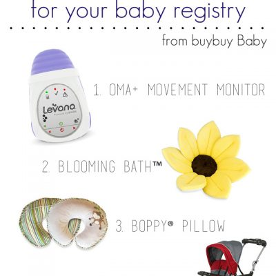 4 Must Haves for your Baby Registry